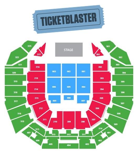 Perth Arena Seating For Cat Stevens